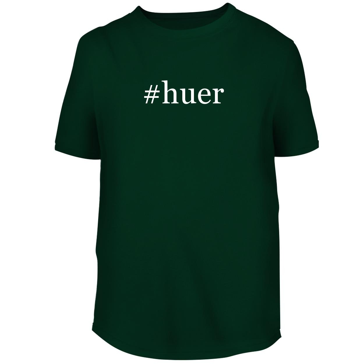 BH Cool Designs #Huer - Men's Graphic Tee, Forest, Large