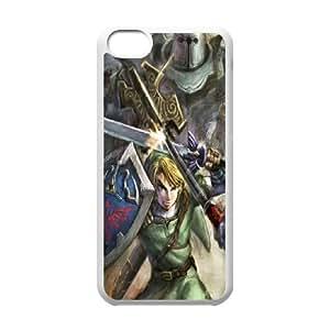 Custom Case Games The Legend of Zelda flower For iPhone 5C Q3V703282