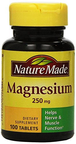 Nature Made MAGNESIUM 250 mg 100 Tablets