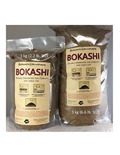 Bokashi Brothers Bokashi 2.2lb Bag (1 kg) Bokashi Kit