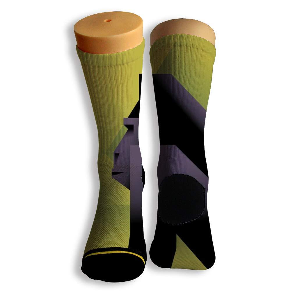Basketball Soccer Baseball Socks by Potooy Horrific Gorilla 3D Print Cushion Athletic Crew Socks for Men Women