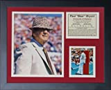"""Legends Never Die """"Paul 'Bear' Bryant"""" Framed Photo Collage, 11 x 14-Inch"""