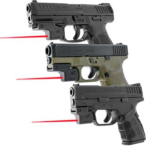 Laserlyte Lyte Ryder Pistol Laser Univsersal Rail Mount Laser Black Finish by Laserlyte Lyte Ryder Pistol