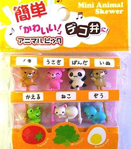 Food Picks For Bento Box Decoration Accessories Japanese Cute Kawaii Design QuotMini