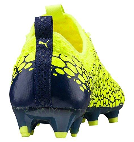 Puma Herren evoPOWER Vigor 1 Graphic FG Fußballschuhe gelb / silber / blau