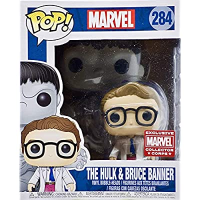 POP! Marvel #284 The Hulk and Bruce Banner Exclusive 6