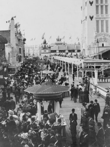 Island Dreamland Coney (early 1900s photo Dreamland, Coney Island, New York City Dreamland, Coney Isl a7)