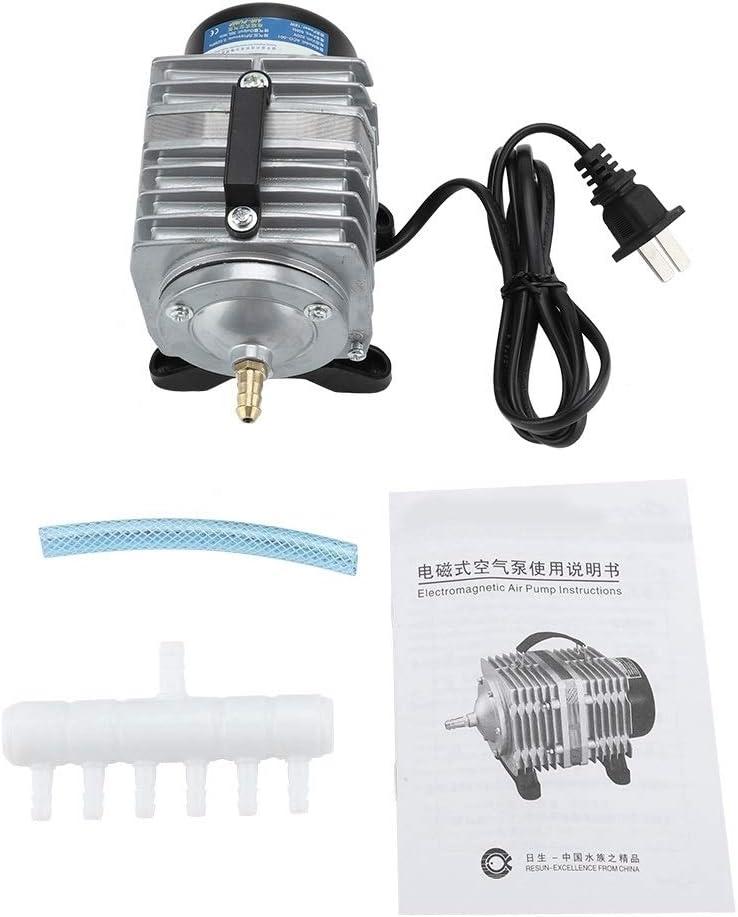 Rockyin Elettromagnetica Acquario di Ossigeno Pompa 18W 38L min Utilizzato for Fish Tank Frutti di Mare Stagno 220V