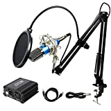 Best Studio Microphones - TONOR Pro Condenser Microphone XLR to 3.5mm Podcasting Review