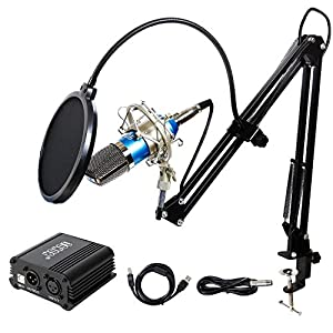 TONOR Pro Condenser Microphone XLR to 3.5mm P...