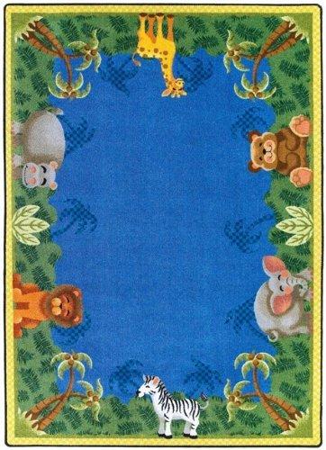 Nur für KIDSs Jungle Friends Kinder Rechteck Teppich Größe: 5'10,2cm X 7' 20,3cm
