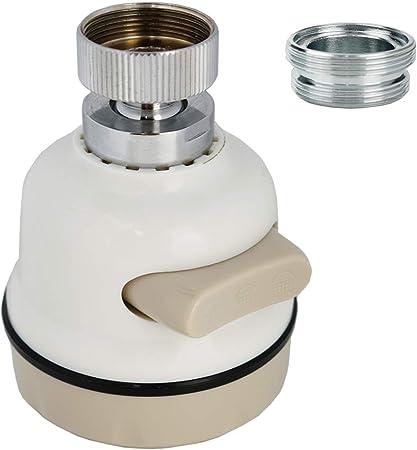 1 ud, Corta 2 en 1 Grifo Gimnasio Giratorio 3 Modos Aireador Grifo para Universal Grifo para Boquilla Giratoria 360/° Filtro para ahorro de agua Alcachofa
