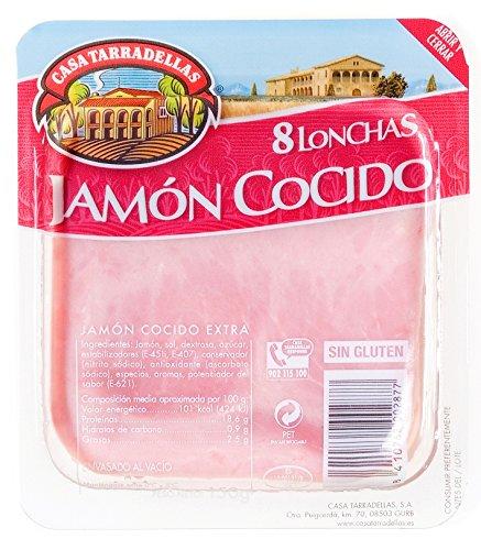 Casa Tarradellas Jamón Cocido Sandwich - 150 gr: Amazon.es ...