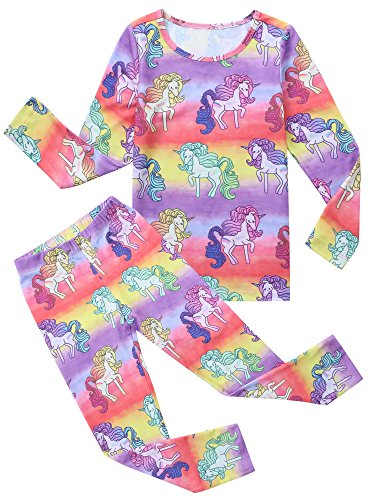 New Girl Kid 2 Piece (Jxstar Girls' New 2-Piece Cotton Pajamas)