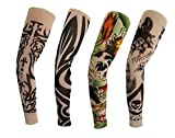 Orilife Fake Temporary Tattoo Sleeves Body Art
