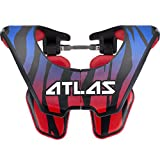 Atlas Brace Technologies Tyke Beast Neck Brace (Blue, Small)