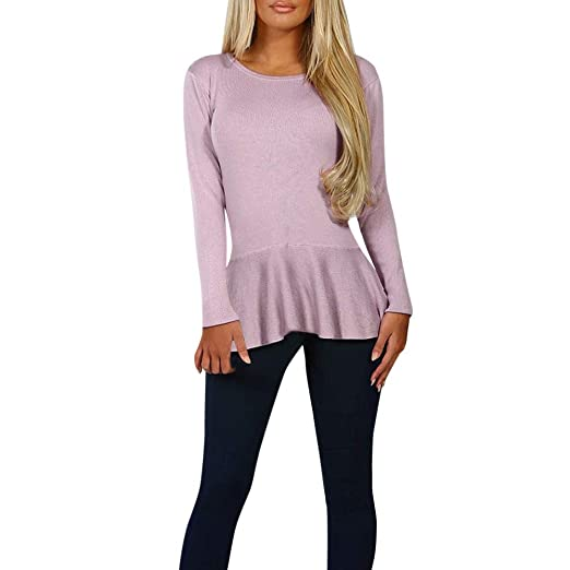 fce0b4ad7ad380 Image Unavailable. Image not available for. Color  Yanvan Women Pullover  Blouse Winter Warm Back Bow Long Sleeve Sweatshirt Shirt Tops