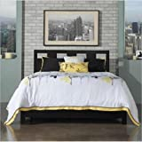 Modus Furniture International Riva Platform Storage Bed in Espresso-Full