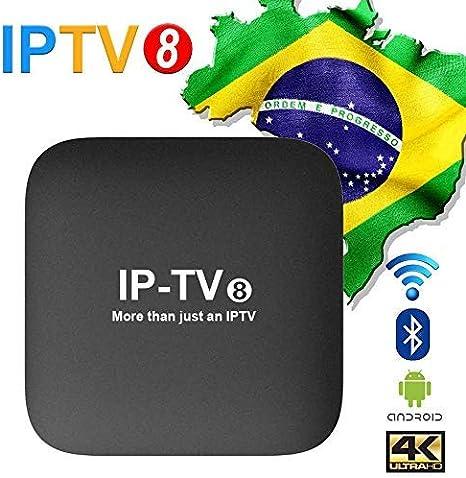 2019 IPTV 8a GERAÇÃO 250+ Canais de TV, muitos deles em recursos ...