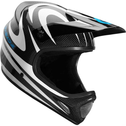 SixSixOne Evo Carbon Camber Men's Full Face Off-Road Cycling MTB Helmet - White / ()