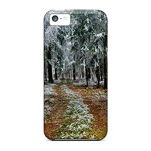 Hot Design Premium GFpqjVc3371cavGq Tpu Case Cover Iphone 5c Protection Case(snow In Autumn)