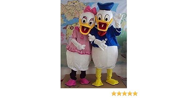 Nueva Pato Donald y Daisy Duck Cartoon Ropa Mascota Disfraz ...