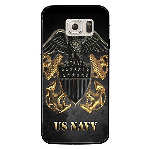 Usn Seals Us Navy (Turbo Delivery LLC - Samsung Galaxy S9 Cool USN Navy Seals Logo Cover Shell Fashionable Golden Design U.S.Navy Seals Phone Case Unique Design Cover for Samsung Galaxy S9)