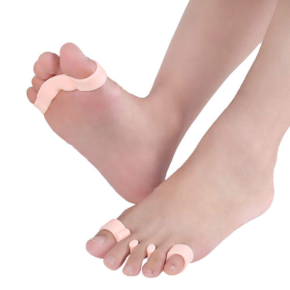 1Pair of Five Toes Bunion Corrector Hallux Valgus Corrector Day Night Toes Correction Feet Care Snail shape by XXJKHL (Image #9)