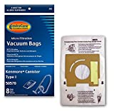 EnviroCare Replacement Vacuum Bags for Kenmore Style 50570 Type I Vacuums 8 Bags