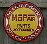Chrysler Mopar Parts Tin Sign 12 x 12in offers