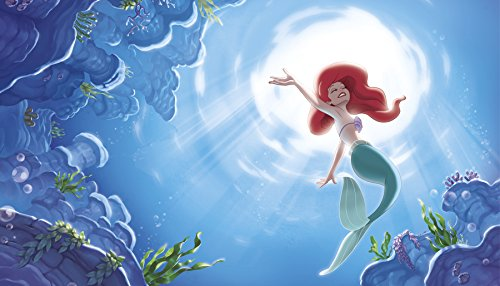 RoomMates Disney Princess The Little Mermaid 'Part Of Your World' Prepasted, Removable Wall Mural - 6' X 10.5' by RoomMates (Image #2)