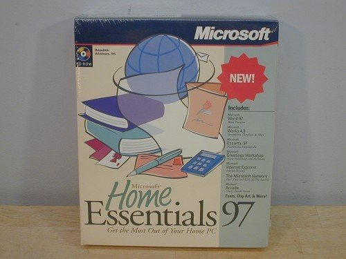 Amazon microsoft home essentials 97word 97s 40 microsoft home essentials 97word 97s 40encarta 97 m4hsunfo
