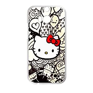 Printed Phone Case Hello Kitty For HTC One M7 L1A2351