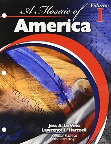 A Mosaic of America Volume 1 (1 1 Vine)