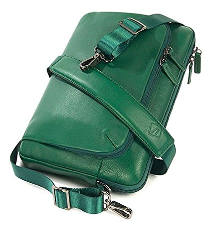 """Tucano One Premium 11"""" Sleeve case Verde - Funda (27,9 cm (11""""), Sleeve case, Verde, Cuero, Monótono, Resistente al polvo, Resistente a rayones)"""