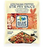 Blue Dragon Stir Fry Sauce, Szechuan Pepper, 3.4 Ounce (Pack of 12)