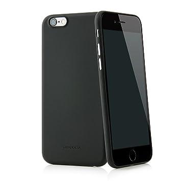 """Quadocta Funda Ultrafina Solid Black """"Angusta"""" para el iPhone 6s y iPhone 6 de Apple de 4,7 Pulgadas. Funda Protectora Extra Fina iPhone 6/6s Original ..."""