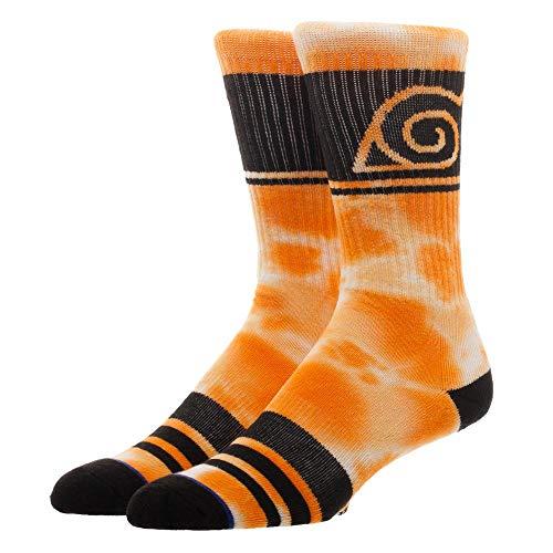 Naruto Tie-Dye Men's Crew Socks from Bioworld