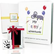First 5 Years Baby Memory Book + Clean-Touch Ink Pad...