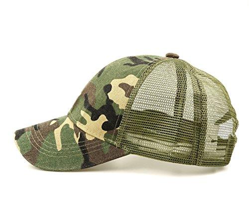 my Baseball Cap Tactical Hat Mesh Back Adjustable Baseball Hat ()