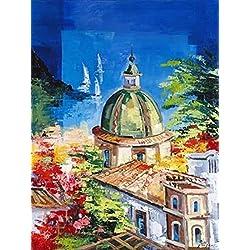 Positano Poster Print by Roberto di Viccaro (18 x 24)