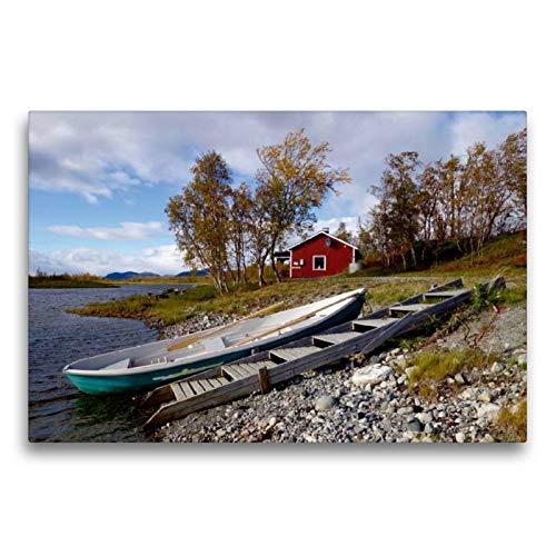 Calvendo Maison au E8 de Muonio Selon Kilpisjärvi, 75 x 50 cm