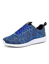 TIOSEBON Women's Breathable Summer Honeycomb Sneakers Athletic Sport Lightweight Walking Shoes
