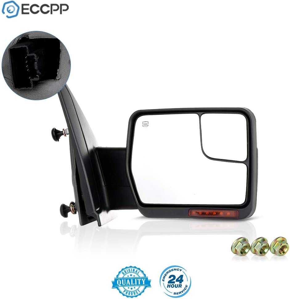New Passenger//Right Side Manual Non-Heated Door Mirror for Ford F-150 2004-2014