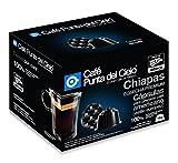 Café Punta del Cielo Capsulas Compatibles Dg Region Chiapas Cosecha Premium 16 Tabletas, 112 gr