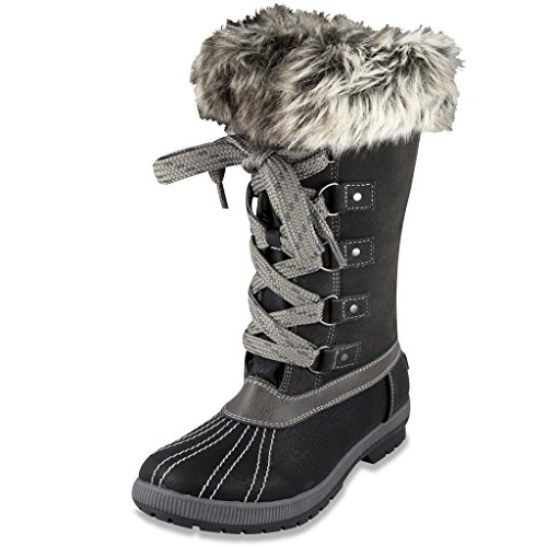 Pictures of London Fog Womens Melton Luxe Cold Weather 1