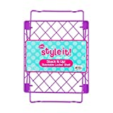 3C4G Purple Locker Shelf