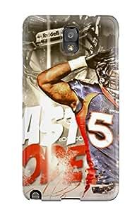New Style AnnaSanders Scratch-free Phone Case For Galaxy Note 3- Retail Packaging - Von Miller 6835264K59748379