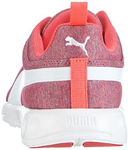 Puma Carson Runner Wn's Heather - zapatillas de running de material sintético mujer blanco - Weiß (bright plasma-white 02)