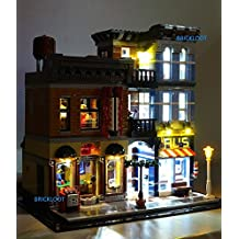 Detective's Office Lighting Kit for LEGO set 10246 by Brick Loot